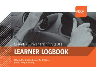 road safety authority ireland  learner driver log book