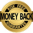 golden badge risk free money back guarantee