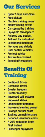 description of services and benefits of training